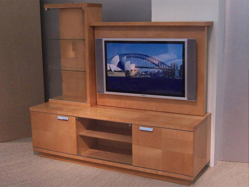 We offer a range of quality t v showcase for home  These Designer t v  showcase  serve dual purpose of decorating the interiors and serving as  stands for TV. T V  Showcase    Ganesh Furniture    Surat    Gujarat    India